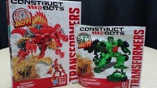Construct Bots SCORN & Dinobot Rider CROSSHAIRS: EmGo Builds Stuff