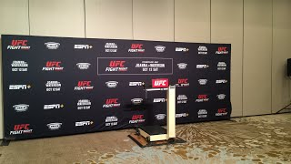 UFC Tampa Official Weigh-Ins Live Stream