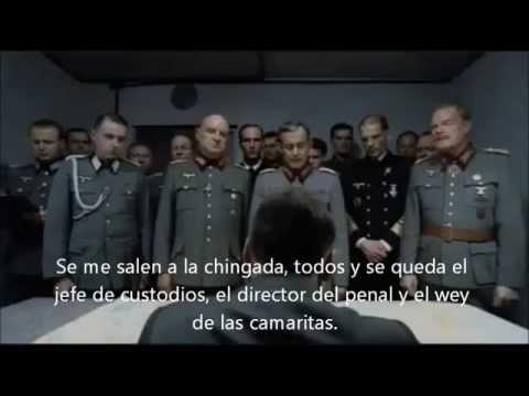 Hitler se entera de la fuga del chapo Guzman con escenas nuevas.