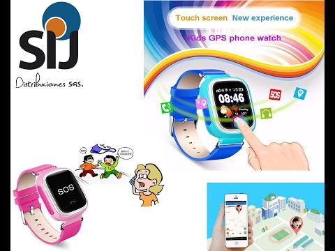 e941e05b385 Review Reloj Localizador Para Niños Q90 Gsm Smartwatch - YouTube