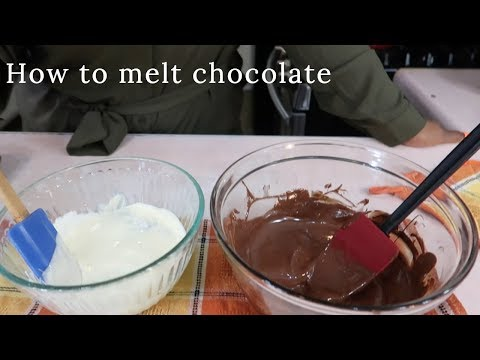 How To Melt White & Milk Chocolate Chips