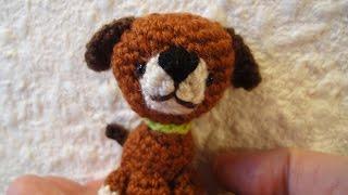 ЩЕНОК  The little dog Crochet