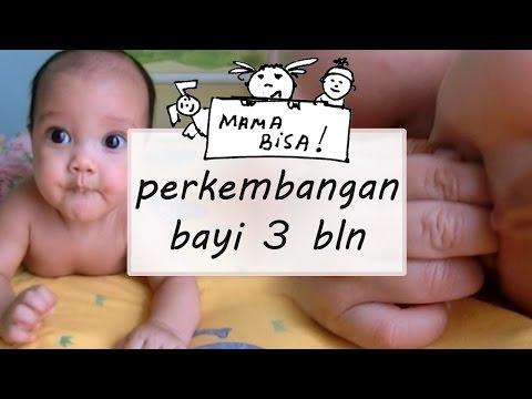 perkembangan bayi usia 3 bulan