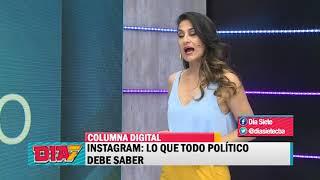 Instagram: Lo que todo político debe saber - Columna Digital - Adrián Soria - 30/09/18