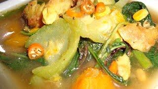 Somlar Prahar with Grilled Catfish