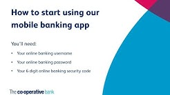 How to register for mobile banking | The Co-operative Bank