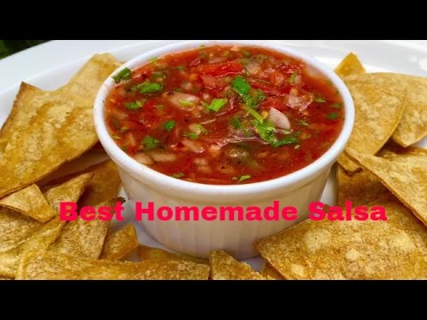 How to make mexican salsa easy