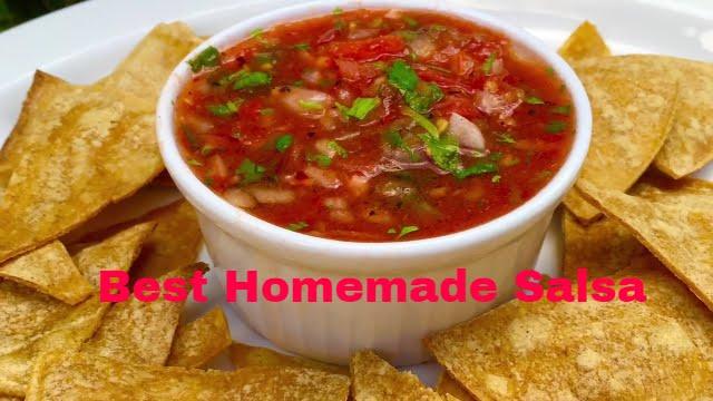 The Best Homemade Salsa Ever