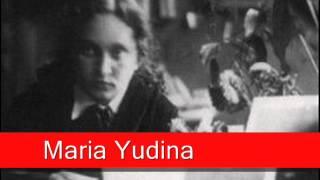 Maria Yudina: Beethoven -