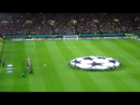 Celtic v PSG electric atmosphere WOW!!