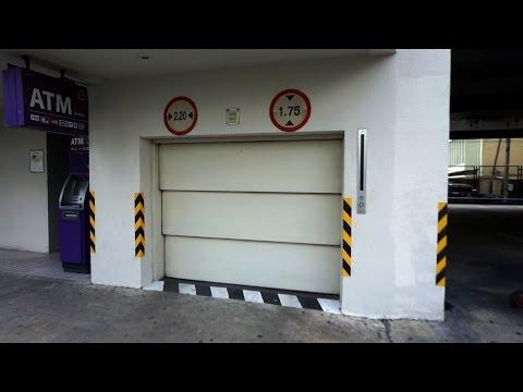 Very awesome Mitsubishi traction car elevators @ Hotel AVANI Atrium Bangkok, Thailand