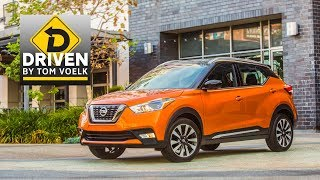 2018 Nissan Kicks Sv Car Review