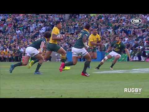 The Rugby Championship 2017: Springboks vs. Wallabies