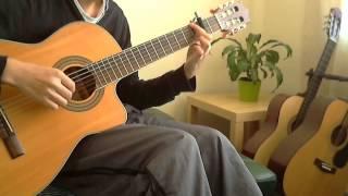 Hyouka ED Madoromi no Yakusoku on guitar