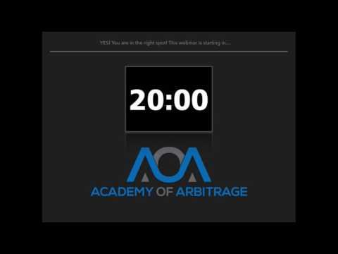 Academy of Arbitrage Live Stream