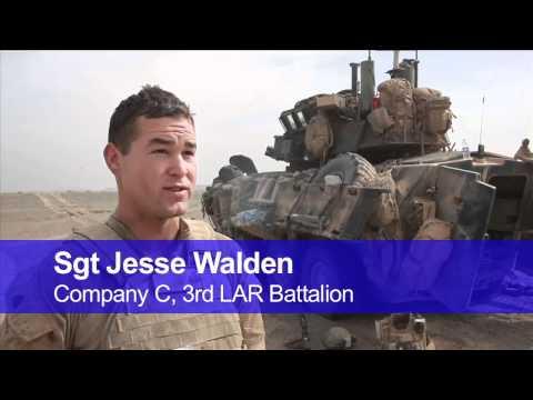 3rd LAR Marines attack key insurgent border hub