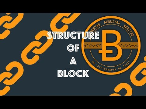 Structure Of A Block [Blockchain & Cryptocurrency (Bitcoin, Ethereum)]