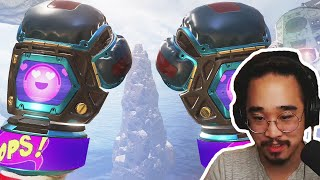 GETTING THE PATHFINDER HEIRLOOM!! OPENING 24 NEW CHRISTMAS EVENT LOOT BOXES!!  (Apex Legends)