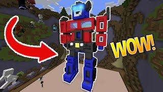 AUTOBOTS... ROLL OUT! (Minecraft Build Battle)