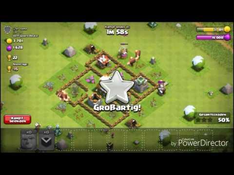 x12 Riesen vs Noob|Clash of Clans #3|Coc Clasher