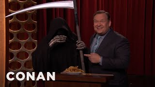 Andy Richter Refuses To Give Up French Fries  - CONAN on TBS