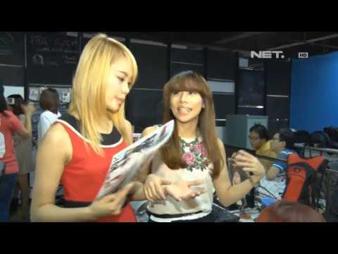Entertainment News-Cherybelle menjadi icon game online