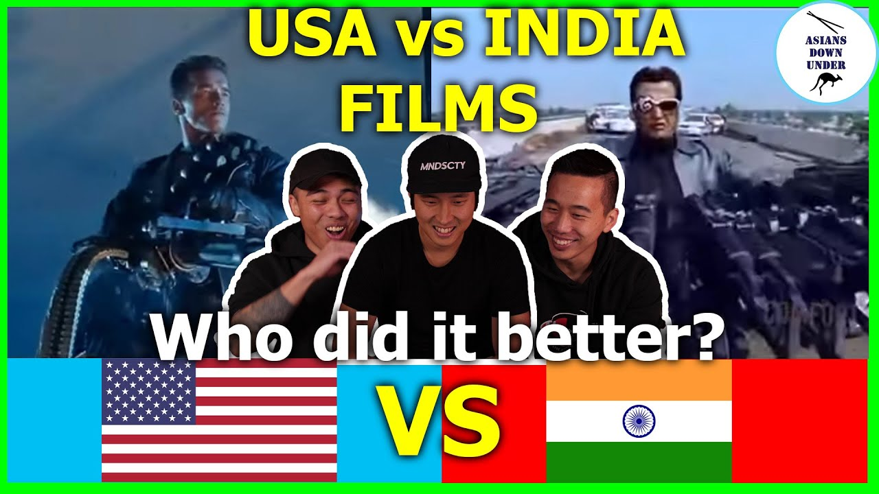 Filmmaker Reacts to USA vs INDIA Films | Asian Australian Reaction | Asians Down Under