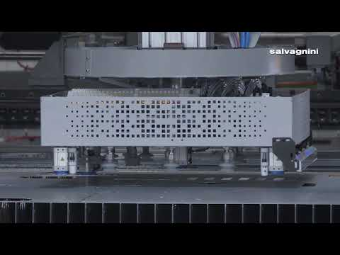 Salvagnini Fiber-Laser Automation