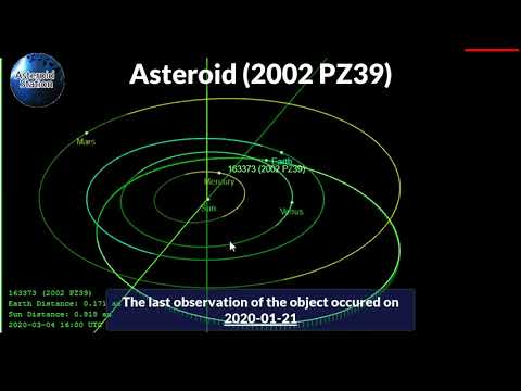 Massive Asteroid (2002 PZ39) Detected 18 Years Ago Is Set for Earth Close Approach Mid Next Month