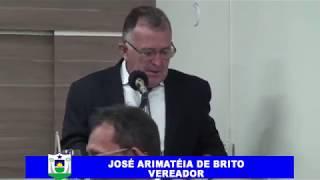 Arimatéira pronunciamento 14 10 2018