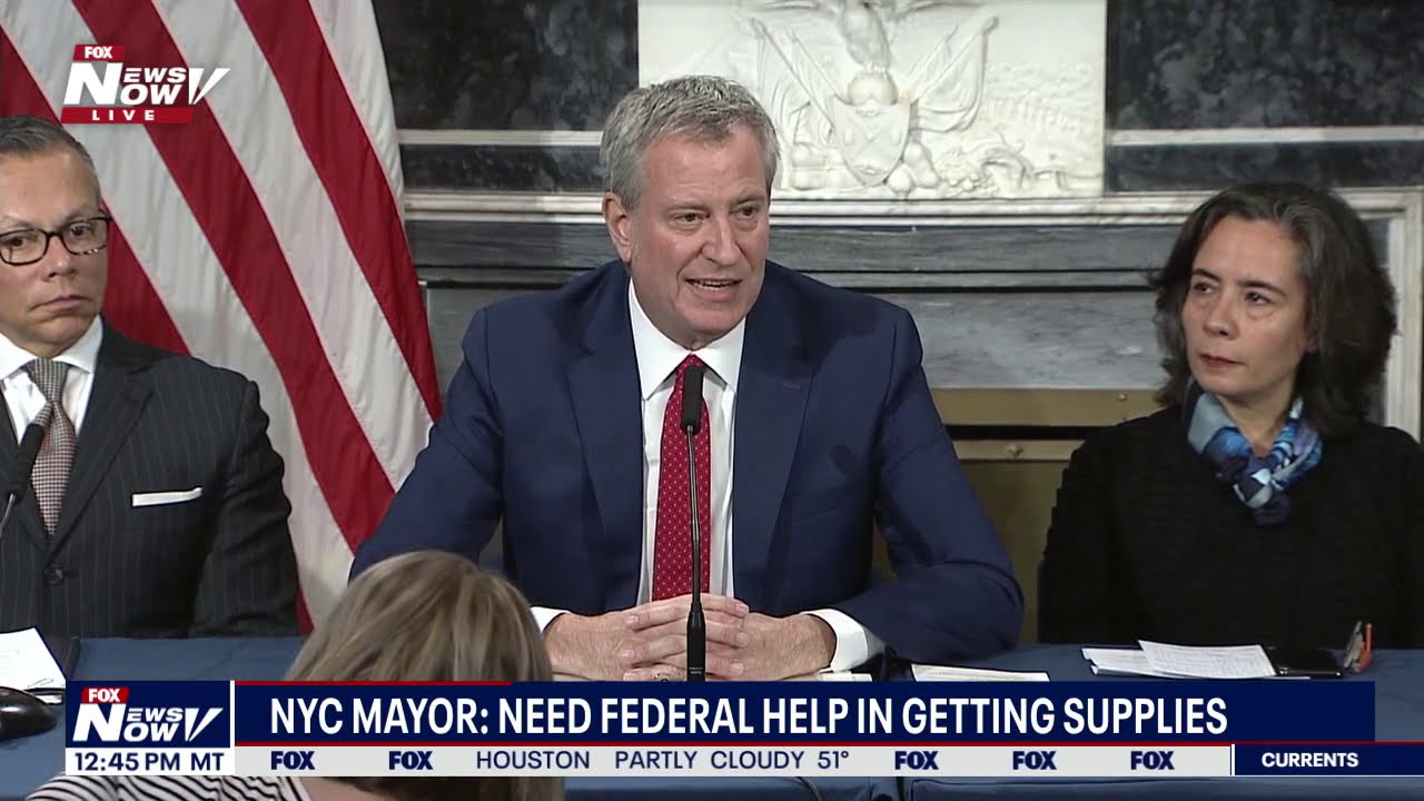 """It's not if, it's WHEN"" - NYC Mayor addresses city's PREPAREDNESS for viru"