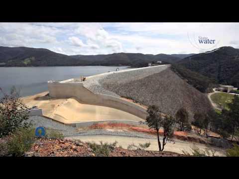 Blowering Dam Upgrade time-lapse