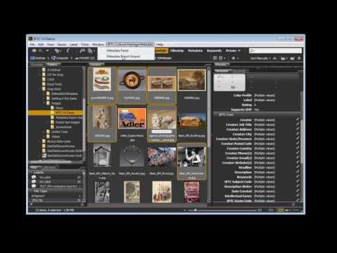 IPTC Cultural Heritage Metadata Export-Import Tool