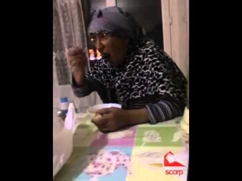 'Ben Hamileyim' diyen kıza babaannenin tepkisi :D (Scorp)