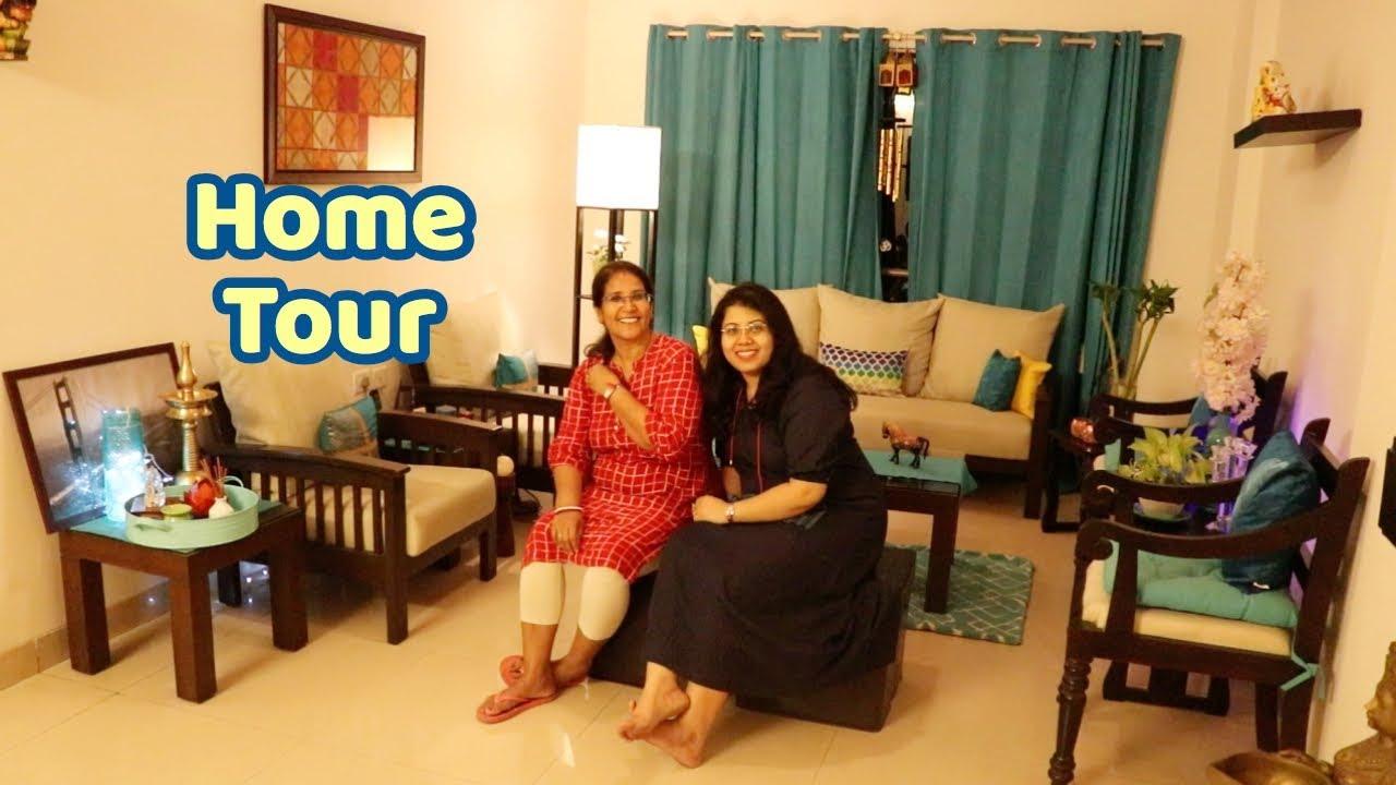 My Friend S Organized Indian House Tour Home Decor Ideas Apartment Tour Maitreyee Passion Vlog Youtube