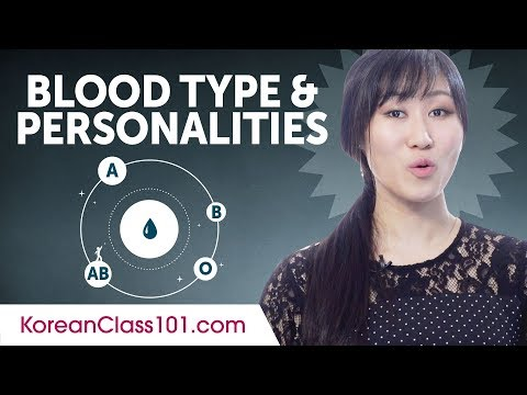 What Your Blood Type Says About Your Personality In Korea?