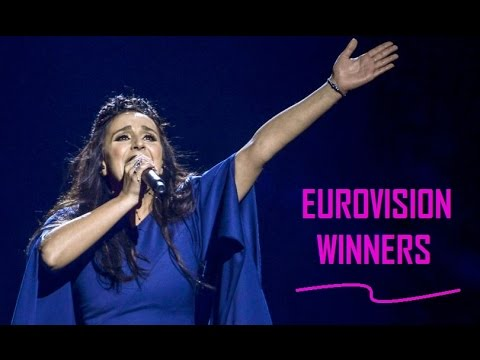 Eurovision Winners 2000 - 2016 (Top 3 By Year)