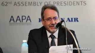 Closing Press Conference - AAPA 62nd Assembly of Presidents in Jeju, South Korea