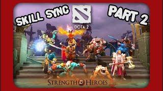 DOTA 2 SKILL SYNC featuring: -Elder Titan -Huskar -IO -Kunkka -Legi...