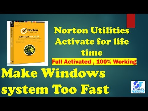 Norton Utilities 16 Full Activation For Life Time | Make Your System Fast| 2017 | Smoogy Tube