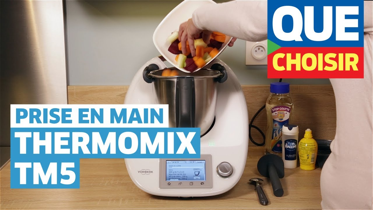 Thermomix tm5 prise en main youtube for Robot cuisine multifonction thermomix
