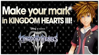 How To Get YOUR NAME In Kingdom Hearts 3!