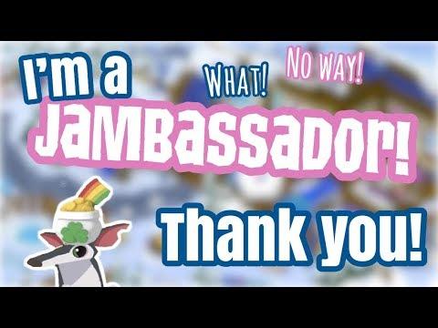 I'M A JAMBASSADOR.
