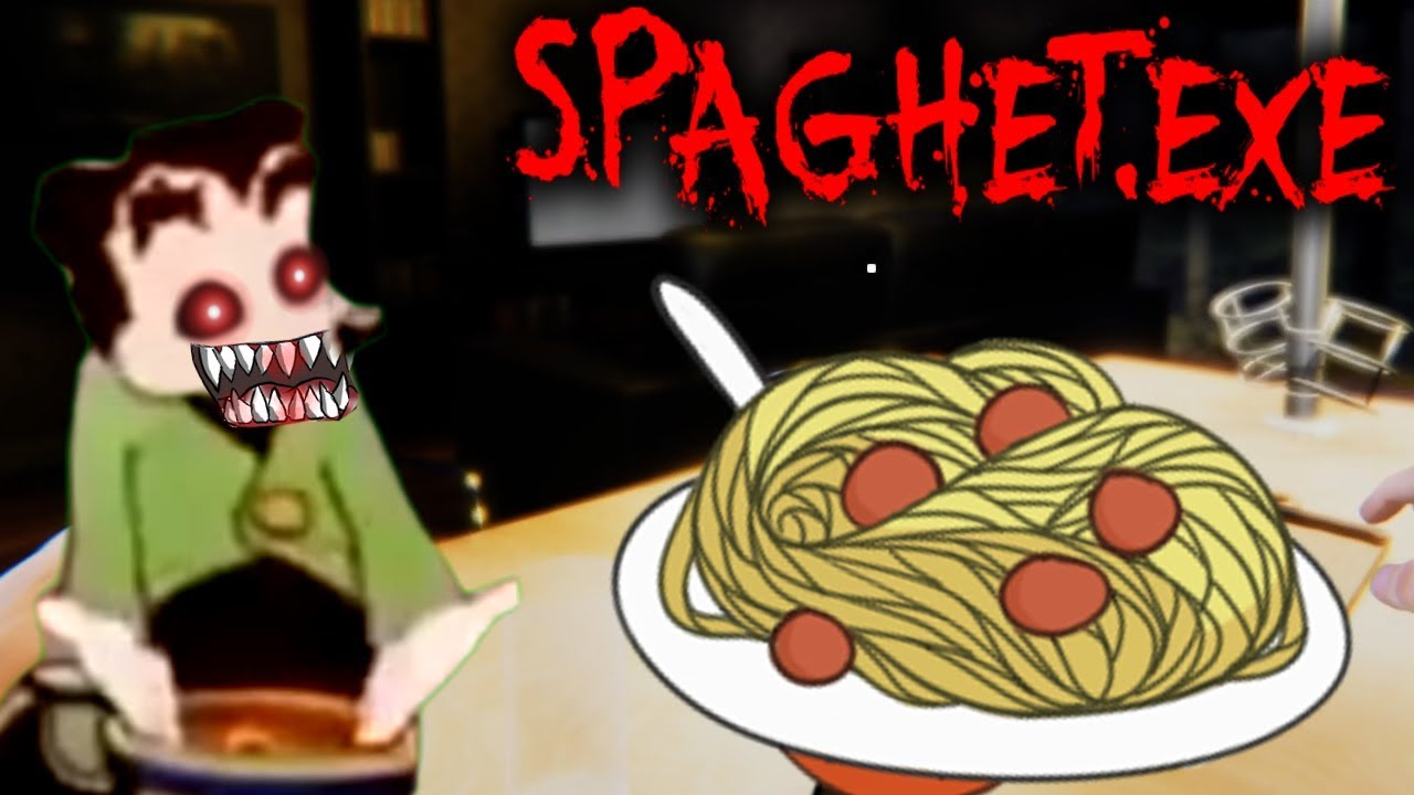 SPAGHET.EXE – SCARIEST SPAGHETTI HORROR GAME! | Somebody touched my Spaghet!