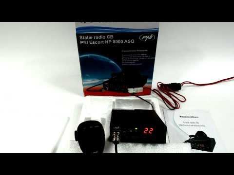 Statie radio CB PNI Escort HP 8000 ASQ - Prezentare, unboxing, Testare