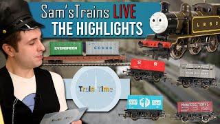 New Wagons   Derailments   Train Time   Sam'sTrains Live Highlights