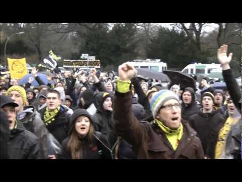Kein Zwanni - Stimmung Fan-Boykott - HSV - BVB 1-5 Borussia Dortmund-Hamburger SV
