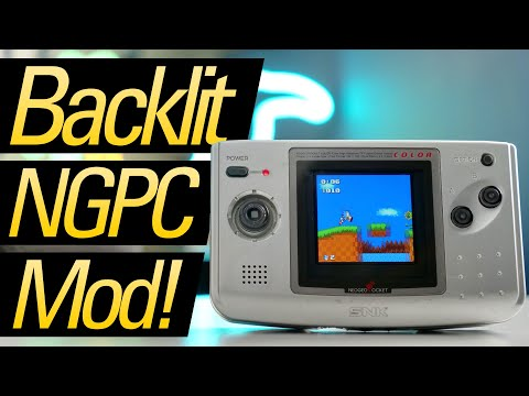 The Screen the Neo Geo Pocket Color Always Needed!
