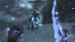 The Elder Scrolls 5  Skyrim  Вызов Ледяного Атронаха