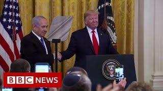 Trump unveils Middle East plan – BBC News